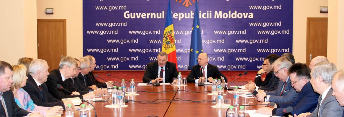 The CNSM Confederal Committee had a meeting with the Prime Minister of the Republic of Moldova